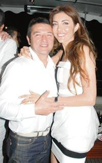 Deniz Berdan ve eşi